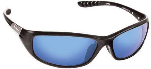 Flying Fisherman Fly Fish Sundance Sunglasses Matte Black/Smoke Blue Mirror 7720BS