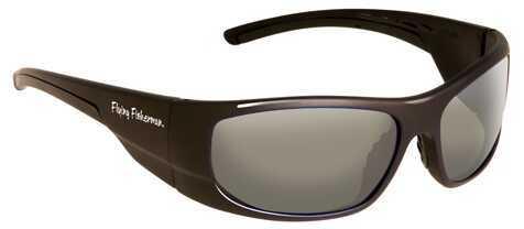Flying Fisherman Fly Fish Cape Horn Sunglasses Black/Smoke 7738NBS