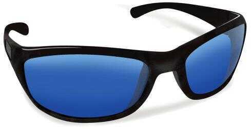 Flying Fisherman San Carlos Matte Black Smoke-Blue Mirror Md: 7762BS