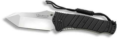 Ontario Knife Company Ontario Knife Co JPT-4S Tanto Folding Knife Black SQ SP 8916