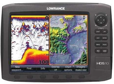 Lowrance Hds-10 Gen2 Usa Insight 83/200 md: 000-10542-001
