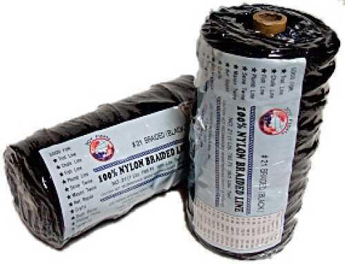 Lee Fisher Size 36 1 lb Braided Twine Black 490 Ft 325 Test TNBB-36