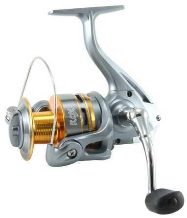 Okuma ROX Spinning Reel 2 Ball Bearings 5.1:1 Gear Ratio 12lb/160yds Size 40 ROX-40