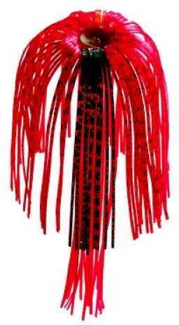 Strike King Replace Skirt Diamond Dust 3Pk Red Shad 33-69
