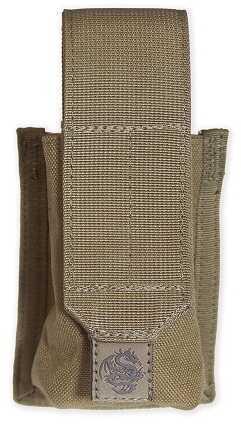 Tac Pro Gear Tacprogear Coyote Tan Single Smoke Grenade Pouch P-SMKGR1-CT