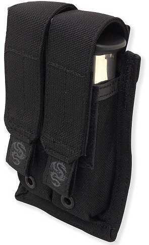Tac Pro Gear Double Pistol Mag Pouch Black P-DPM1-BK