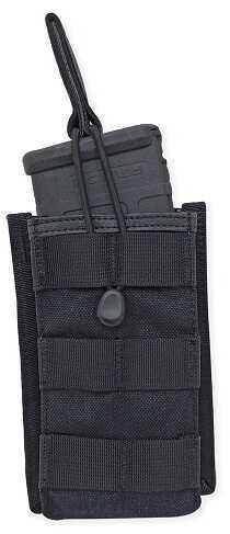 Tac Pro Gear Single Rifle Mag Pouch Open Top Black P-SRMOT1-BK