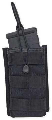 Tac Pro Gear Single Rifle Mag Pouch Open Top Short Black P-SRMOTS1-BK