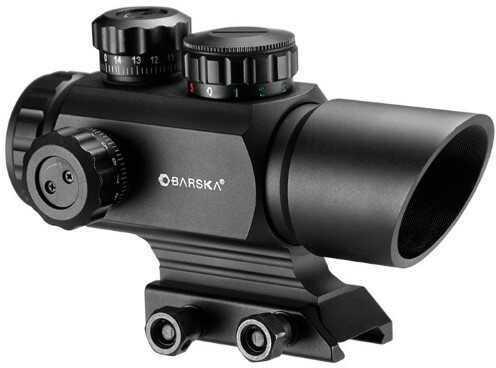 Barska Optics Barska AR-X 1x35mm Multi Reticle Red/Green Dot Scope Md: AC12176