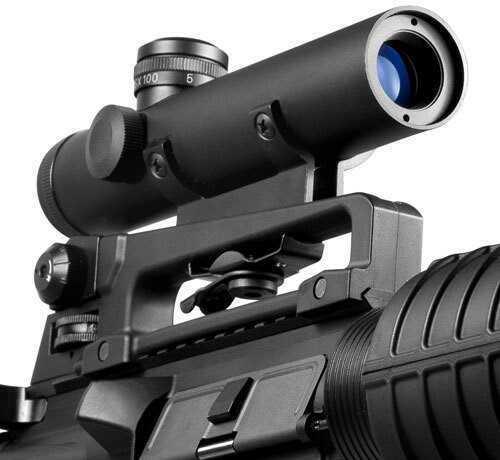 Barska Optics Barska 4x20mm Electro Sight Carry Handle Scope Md: AC11608
