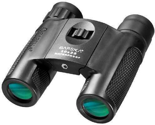 Barska Optics Barska 10x25 WP Blackhawk Compact Green Lens Binoculars AB11844