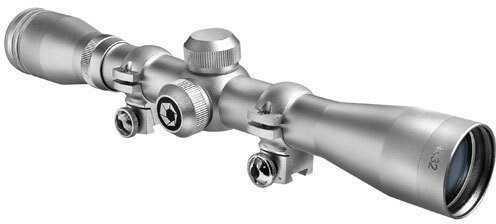Barska Optics Barska 4x32mm IR Plinker-22 Silver Scope with Rings Md: AC10041