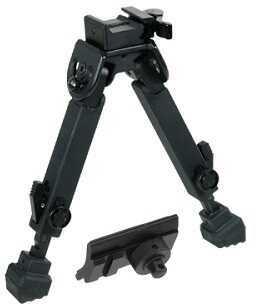 UTG Rubber Armored Full Metal QD Bipod