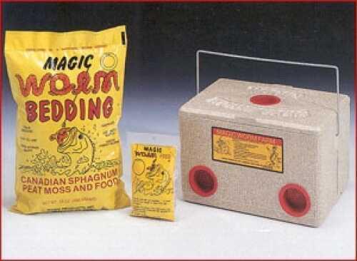 Magic Bait Magic Worm Farm With Bedding/Food 1000