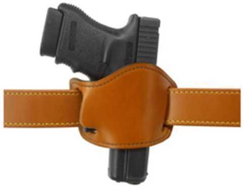 Gould & Goodrich G&G Chestnut Brown Low Profile Belt Slide Holster 893-1