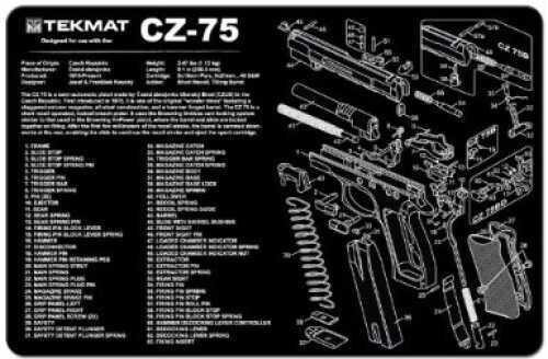 TekMat CZ-75 Hangun Mat 17-CZ75