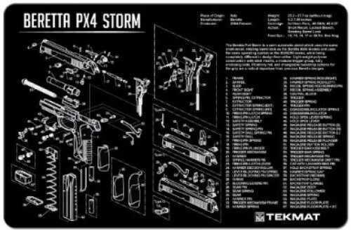 TekMat Beretta PX 4 Storm Handgun Mat 17-Ber-PX4