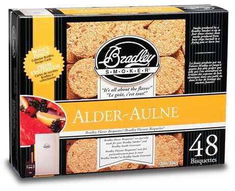 Bradley Technologies Bradley Alder Bisquettes 48 Pack BTAL48