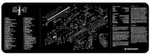 """Beck Tek, LLC AK-47 Rifle Mat, 12""""x36"""", Black Finish 36-AK47"""