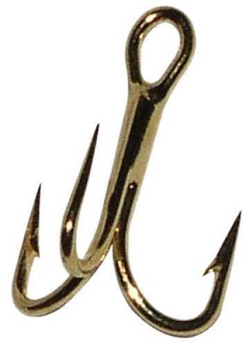 Gamakatsu / Spro Gamakatsu Trout Treble Hook Size 14 Red 4 Per Pack 273303