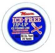 Mason Tackle Mason Tip-Up Line 30 Lb 25 Yard Black Mn# BT-30