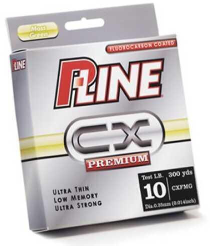 P-Line Pline CX Premium Monofilament 300Yd 4Lb Clear Fluorocarbon CXFFL-4