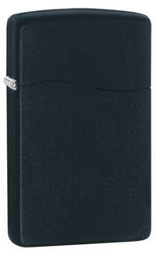 Zippo Blu2 Black Matte Butane Lighter 30205