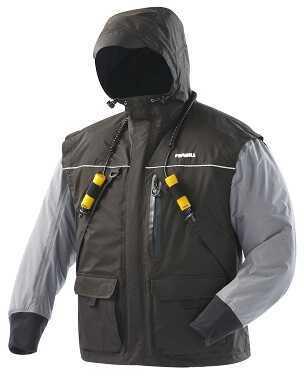 Frabill Inc Frabill Jacket I2 Black/Heather Grey Medium