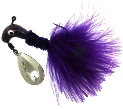 Blakemore Lure / Tru Turn Blakemore Road Runner Maribou -1/16 Oz- Purple Mn# 1002-003