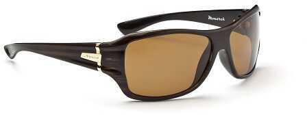 Optic Nerve Monarch Polarized Women's Sunglasses Brown 12906
