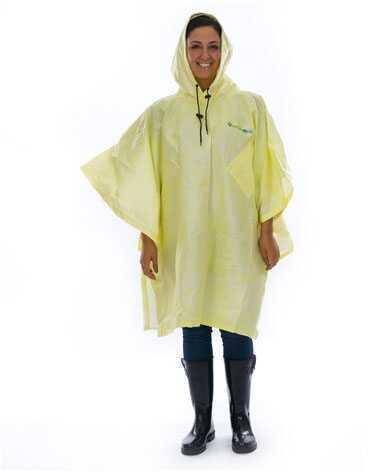 Envirofit Rain Poncho Yellow