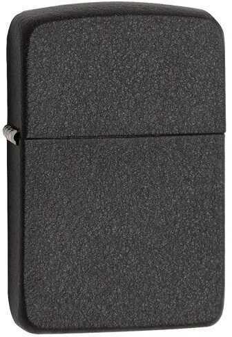 Zippo 1941 Black Crackle Lighter 28582