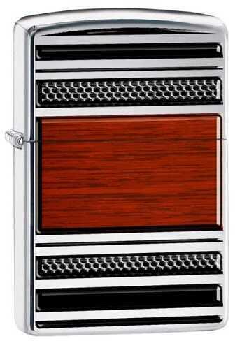 Zippo Steel & Wood Pipe Lighter 28676