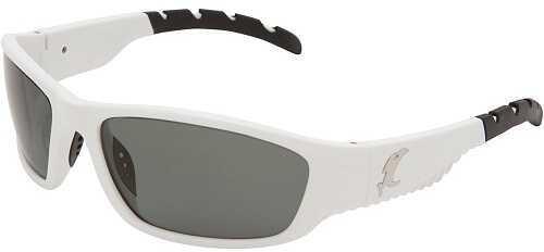 Vicious Vision Venom White Pro Series Sunglasses-Gray