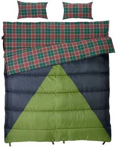 Slumberjack Bonnie & Clyde 30/40 Degree Double Sleeping Bag 51726511DW