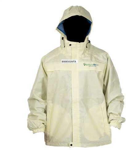 Envirofit Solid Rain Jacket Yellow 2X-Large Md: J003-Y-XXL