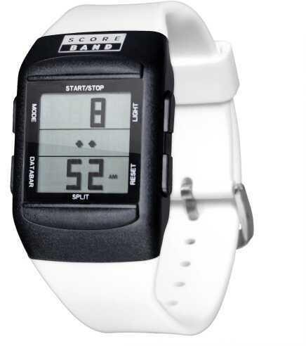 ScoreBrand ScoreBand Pro 5 Mode Digital Scorekeeping Watch White - L/Xl