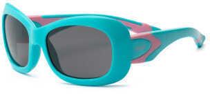 Real Kids Shades Real Kids Aqua/Pink Flex Fit Smoke Lens 7+ Sunglasses