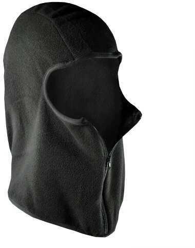 ZANheadgear Zan Headgear Balaclava Microfleece With Zipper Black