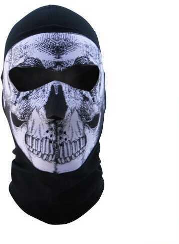 ZANheadgear Zan Headgear Balaclava Extreme COOLMAX Full Mask B&W Skull