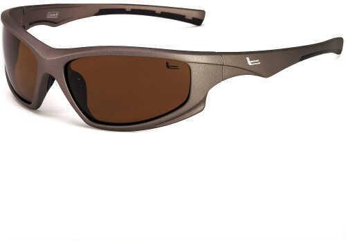 Coleman Kingfisher-Metal Grey w/Black Rubber Tips/Brown Lens C6032 C3