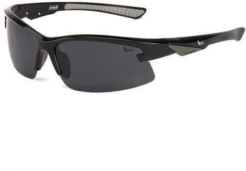 Coleman Fullforce-Shiny Black w/ Grey Rubber Tips/Smoke Lens C6039 C1