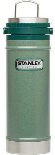 Stanley Classic 16oz Hammertone Green Vacuum Travel Press