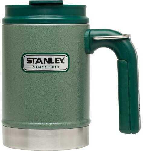 Stanley Classic 16 Ounce Hammertone Green Vacuum Camp Mug