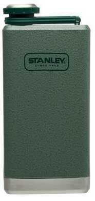 Stanley Adventure Ss 8oz Hammertone Green Flask
