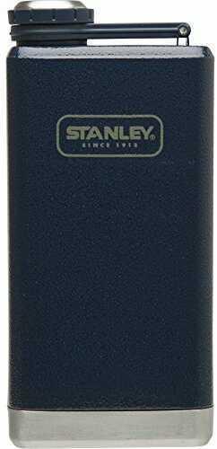 Stanley Adventure Stainless Steel 8oz Hammertone Navy Flask