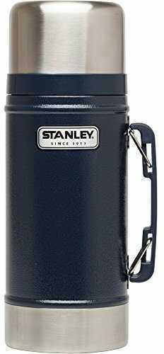 Stanley Classic 24oz Hammertone Navy Vacuum Food Jar