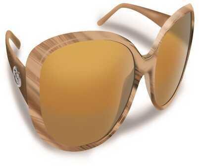 Flying Fisherman Sanibel Sand Frame w/Amber Lens Sunglasses 7396SA