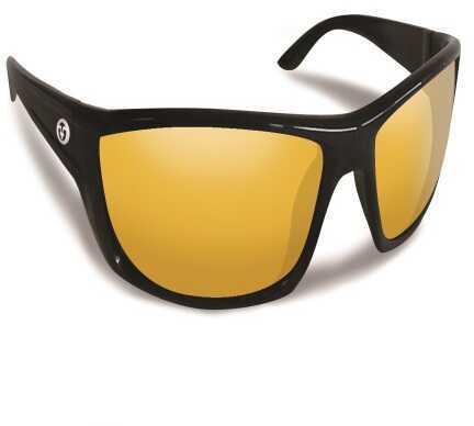 Flying Fisherman Buchanan Black w/Yellow Amber Sunglasses 7719BY