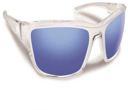 Flying Fisherman Cove Crystal w/Smoke Blue Mirror Sunglasses 7721CSB
